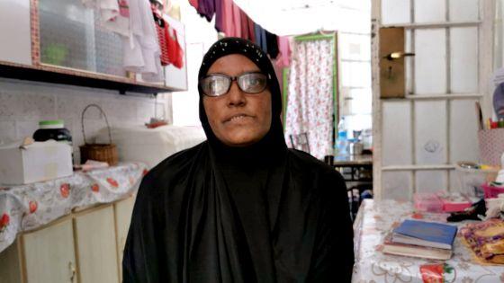 Rosida Oozeer, invalide et mère de deux enfants : «Nous n'avons  plus rien à manger. Aidez-nous s'il vous plaît»
