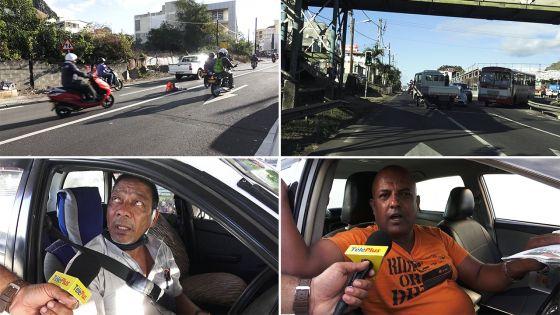 Port-Louis : Cônes déroutants, confusion sans borne