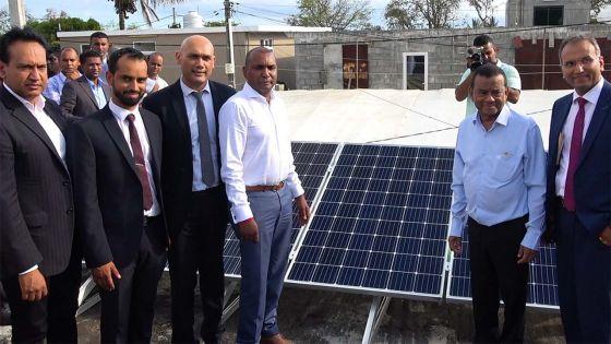 Collendavelloo : «10 000 familles pourront produire 50 unités d'électricité grâce au Home Solar Project»