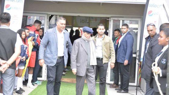 [Images] Maurice/Madagascar : Sir Anerood Jugnauth assiste à la rencontre