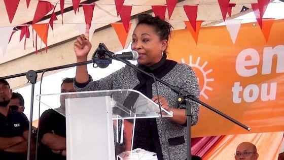 Sandra Mayotte : «Je ne permettrai à personne de dire qu'un animateur radio ou un artiste n'a pas sa place au Parlement»