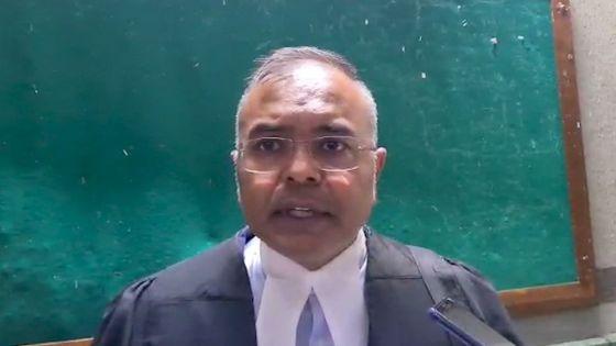 Policière tuée lors d'une livraison contrôlée : «Dan enn Leta de drwa, tou dimounn ena right to counsel», dit Me Sanjeev Teeluckdharry