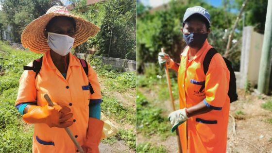 Travailler après 60 ans : le quotidien de Santee et Santa, deux soeurs courage