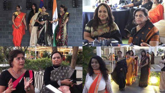 Au Suffren : mieux connaître les 29 États de l'Inde à travers un défilé de saris