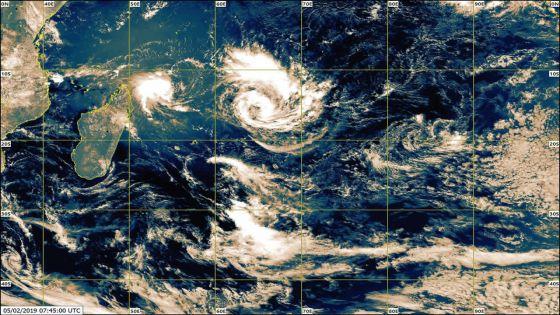 Météo : la dépression tropicale ne représente aucun danger pour Maurice