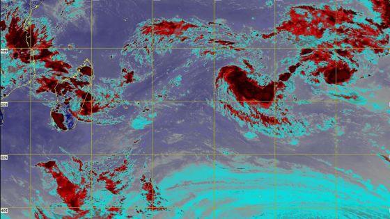Météo : une dépression tropicale au nord-est de Rodrigues