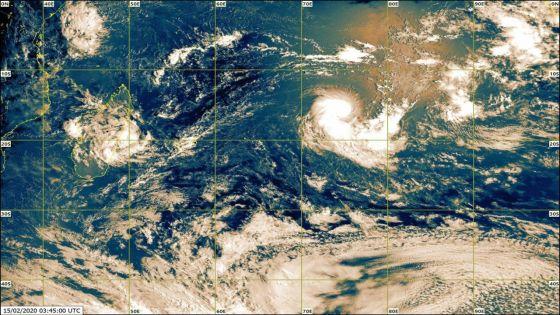 Météo : une dépression tropicale à 1 860 km de Maurice