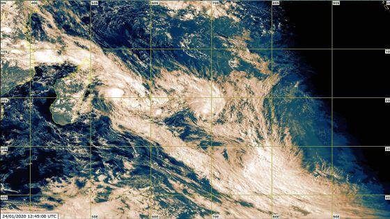 Dépression tropicale : Rodrigues passe en alerte 1, Maurice toujours en alerte 2
