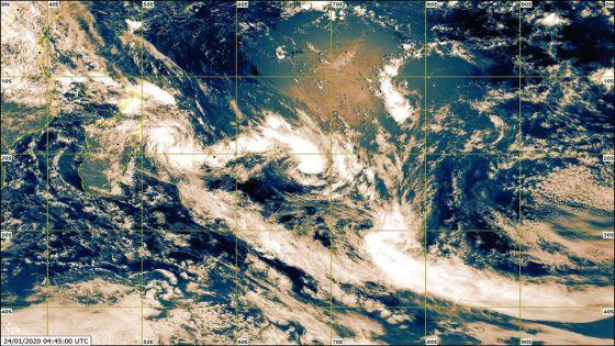 Météo : l'alerte cyclonique 2 maintenue