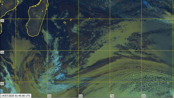 Météo : l'assez fort anticyclone presque stationnaire