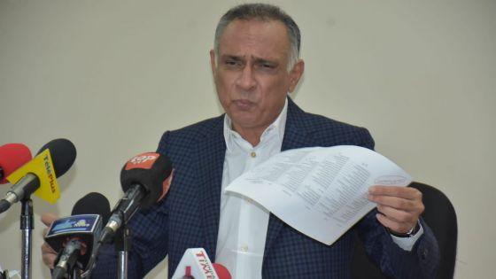 MK : des dettes d'environ Rs 800 millions en 6 semaines, selon Sattar Hajee Abdoula