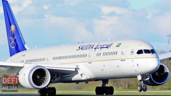 Saudia opèrera trois vols hebdomadaires