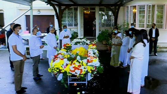 Revivez les funérailles de sir Anerood Jugnauth