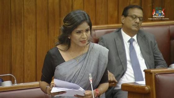 Débats sur le discours-programme: Subhasnee Lutchmun-Roy égratigne les membres de l'opposition