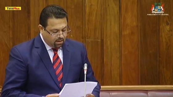 Débats sur le discours-programme : Kushal Lobine plaide pour une réforme constitutionnelle