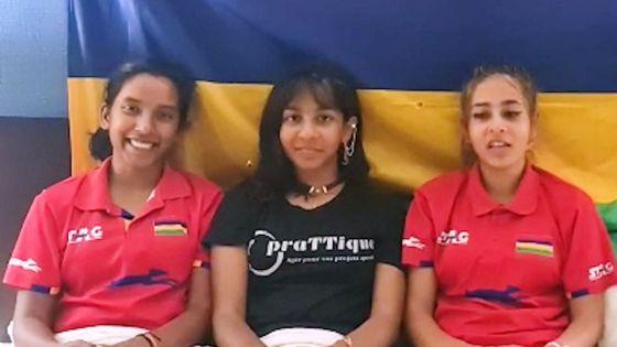 Tennis de table : Jalim et les sœurs Hosenally offrent à Maurice sa première médaille aux Championnats d'Afrique seniors depuis 17 ans