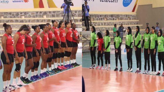 [Images] JIOI - Volley-ball : les Seychelloises s'imposent contre les joueuses des Maldives