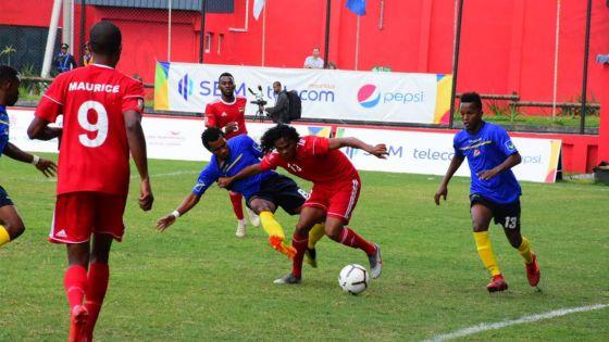 JIOI – Football : le Club M tenu en échec par les Seychelles malgré la chaude ambiance dans les tribunes