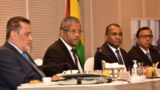 Visite officielle : le Président seychellois Ramkalawan rencontre le ministre Padayachy