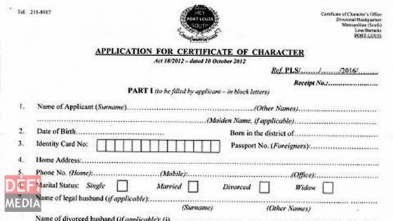 Il cherche un emploi : après deux mois d'attente, Shaif obtiendra son certificat de moralité