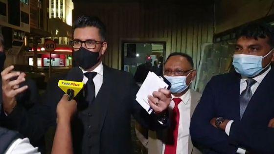 Incidents dans la lunchroom de l'Assemblée nationale : Shakeel Mohamed consigne un «Diary Book Entry» contre trois membres du GM