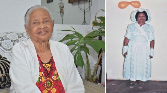 Annie Léona Goyeram : Une centenaire de caractère, toujours de bonne humeur