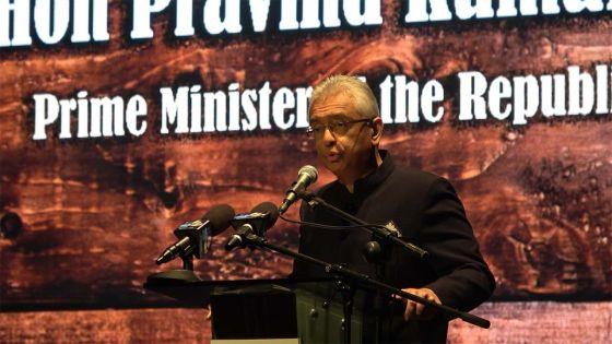 Pravind Jugnauth : «Antan ki premie minis, mo pou asire ki zame zot mars latet bese»