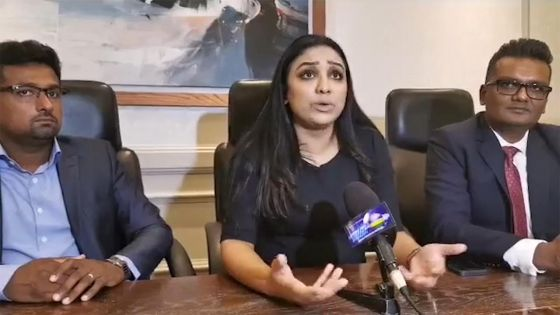 Remous au sein du Reform Party : Harshani Mahadoo et deux autres membres se retirent