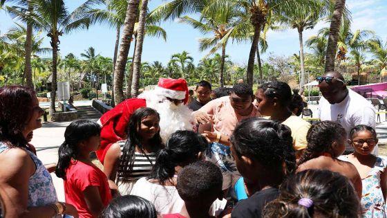 Radio Plus célèbre Noël avec 100 enfants handicapés