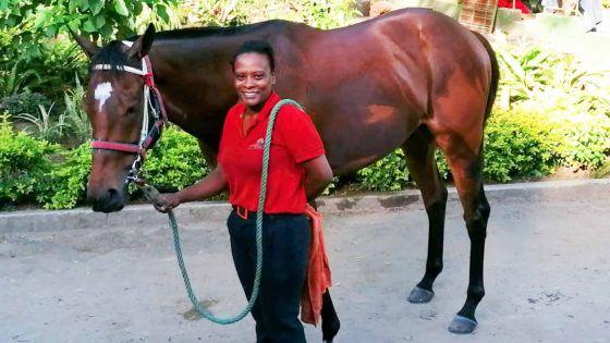 Au Centre Guy Desmarais (14/01/20): Plusieurs chevaux au 'light canter'!