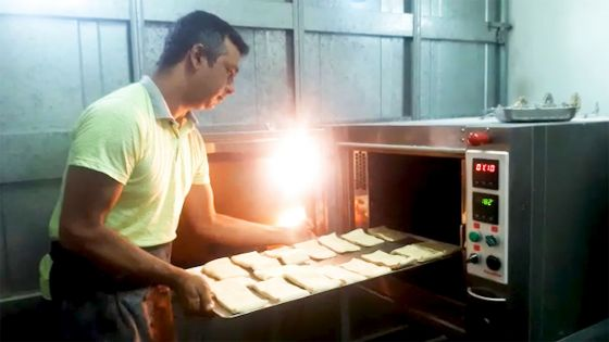 Saint-Julien : Shezad, le pâtissier, au ralenti