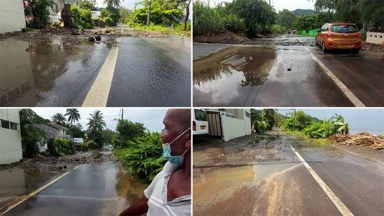 Sud-Est : 30 minutes de pluie provoquent des accumulations d'eau