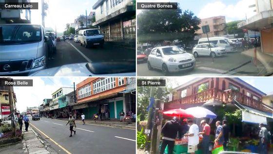 Des rues animées en ce 1er samedi du déconfinement partiel