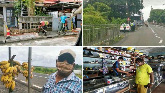 31e jour de confinement : une matinée mouvementée dans le sud de l'île