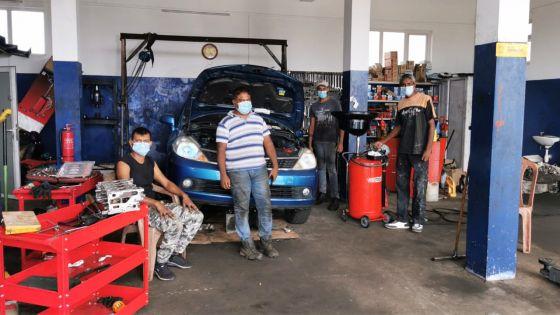Eshan, propriétaire d'un garage à Carreau-Laliane : «Mo pa ankor travay enn roupi»