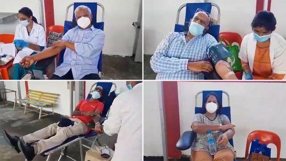 Trou-Fanfaron : plusieurs médecins font don de leur sang