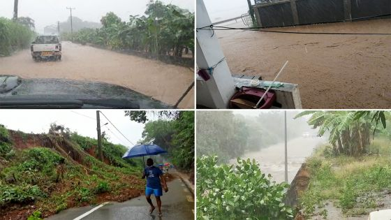 Des images saisissantes de la montée des eaux dans le Sud-est