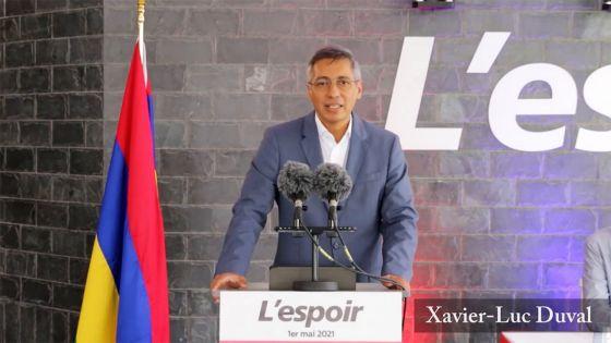 1er-Mai - Duval : «Nou bizin enn popilasyon ki tousse enn tre bon saler me ki prodiktif»