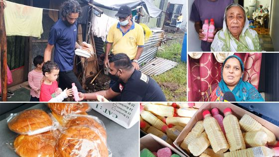 Quinze familles de Chemin-Grenier  ont reçu leur « iftar pack »