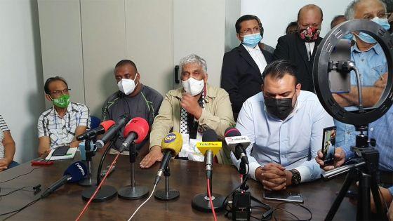 Rama Valayden après son arrestation : «C'est à tout prix pour avoir la peau de certaines personnes»