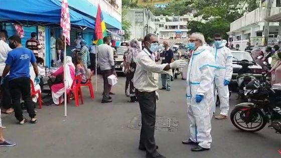 Forte mobilisation à Vallée-Pitot pour le dépistage organisé à l'ONG Naw-N-Sha