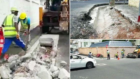 Enquête de « Zoom » : démolition des caniveaux qui débordent à Port-Louis