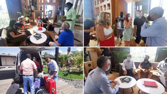 Réouverture des frontières : Le sega «Bare ala mo vini» accueille à un couple portugais en lune de miel