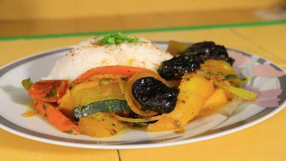 Recette : tajine berbère de légumes à la marocaine