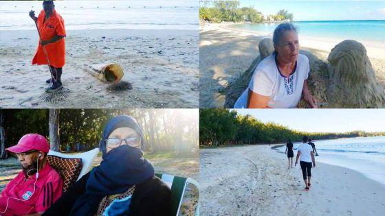 Françoise, artiste française : un amour pour le sable blanc de l'île Maurice