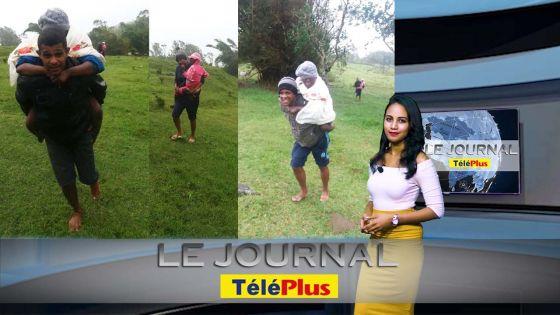 Le JT – Joaninha – évacuation de plusieurs personnes à Rodrigues