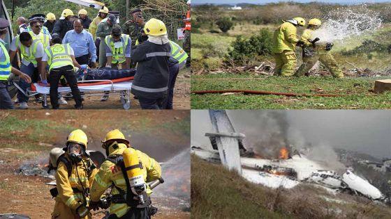 Simulation à Belle-Vue : un crash d'avion fait 10 victimes, 66 rescapés