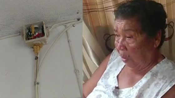 Rodrigues : La maison d'une habitante frappée par la foudre