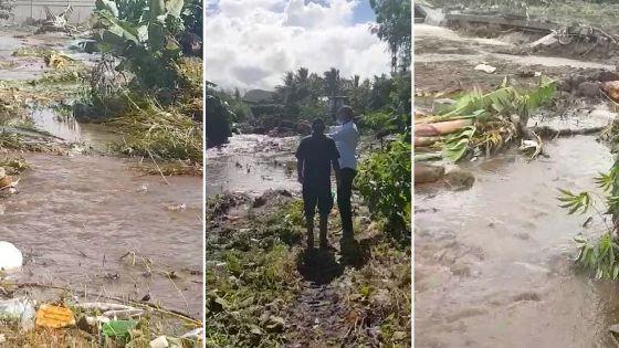 Solferino : des maisons inondées, dit Assirvaden, le député PTR dramatise, rétorque le maire