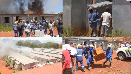 Incendie à Cité Longère : la Société Solidarité Pauvreté organise une collecte et compte distribuer des repas chauds aux sinistrés